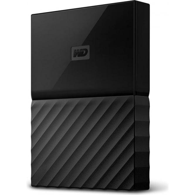 Western Digital WD 1 TB My Passport for Mac Portable External Hard Drive, USB 3.0, WDBFKF0010BBK-WESN, Black