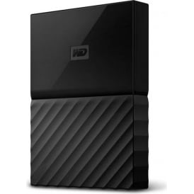 WD 1 TB My Passport for Mac Portable External Hard Drive, USB 3.0, WDBFKF0010BBK-WESN, Black