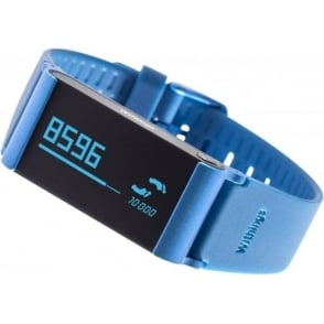 Pulse Ox Activity, Sleep, Heart Rate and SPO2 Tracker for iOS and Android, Blue