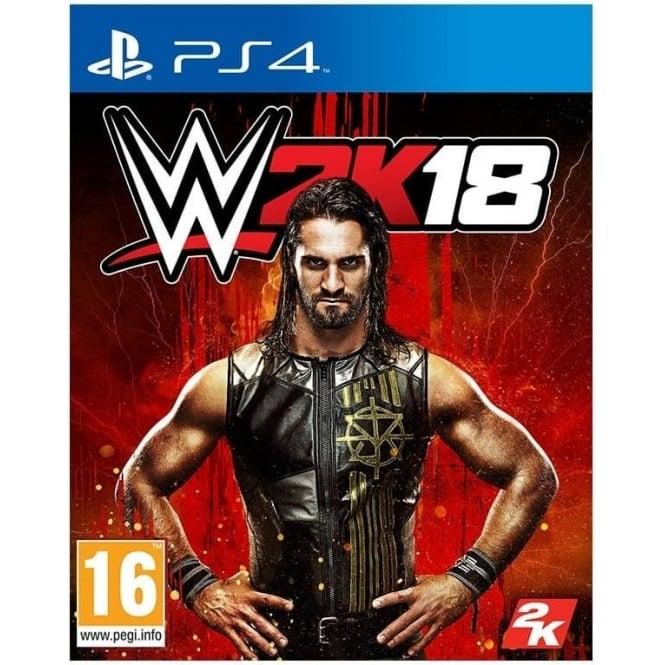 2K WWE 2K18 PS4
