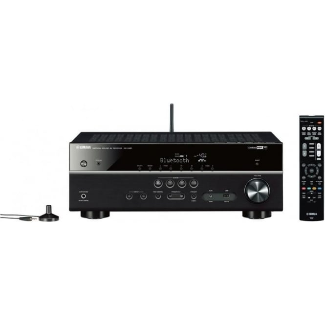 Yamaha RXV481 5.1 Bluetooth AV Receiver, Black