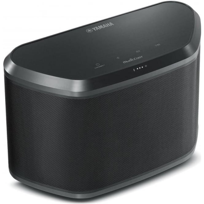 Yamaha WX030 Wireless Speaker with Bluetooth, Black