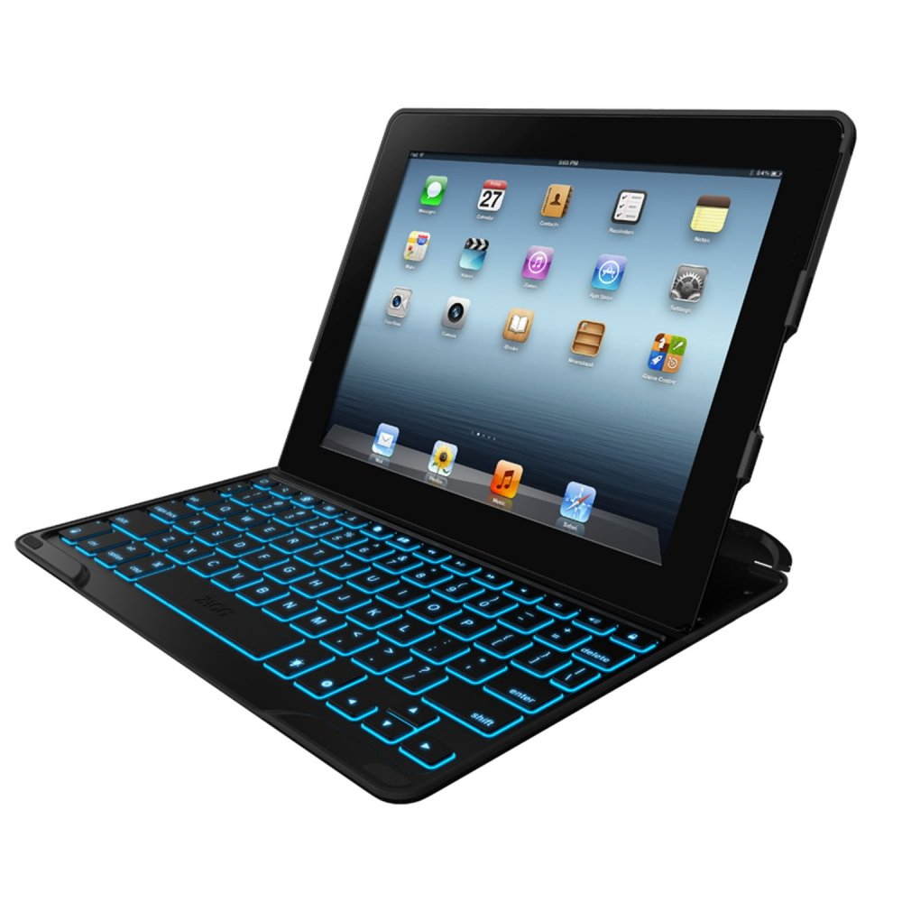 Zagg Keys Profolio Plus Case With Bluetooth Keyboard For