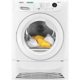 Anti-Crease Freestanding 8kg 60cm Condernser Tumble Dryer, White