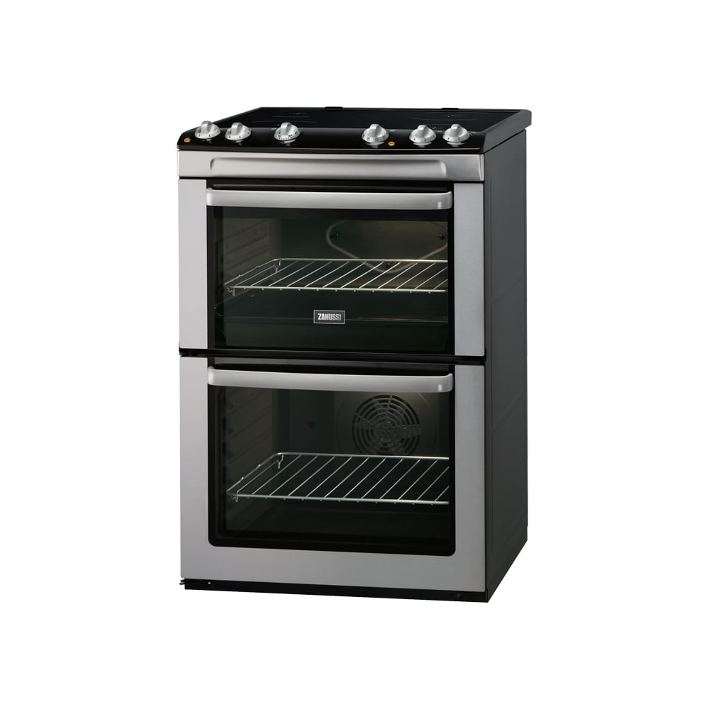 Electric Cookers Freestanding ~ Zanussi energy efficient freestanding cm double electric