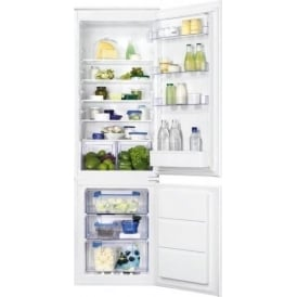 ZBB28651SA Frost Free Integrated 56cm A+ Fridge Freezer, White