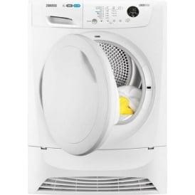 ZDH8333PZ 8kg, A+ Condenser Dryer, White