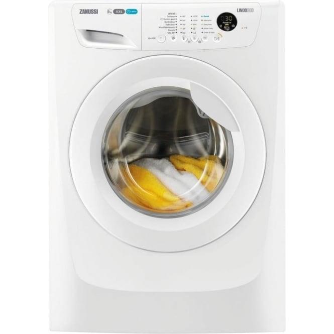 Zanussi ZWF91283W XXL Drum, Lindo 300 9kg, 1200rpm, A+++,  Freestanding Washing Machine , White
