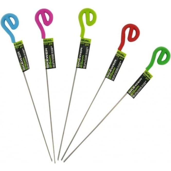 Zeal Silicone Head Skewer 25cm, Assorted Colours