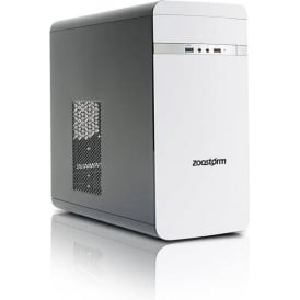 Evolve Intel Core i3-7100, 8GB RAM, 1TB HDD, Win 10 Home Desktop PC, White