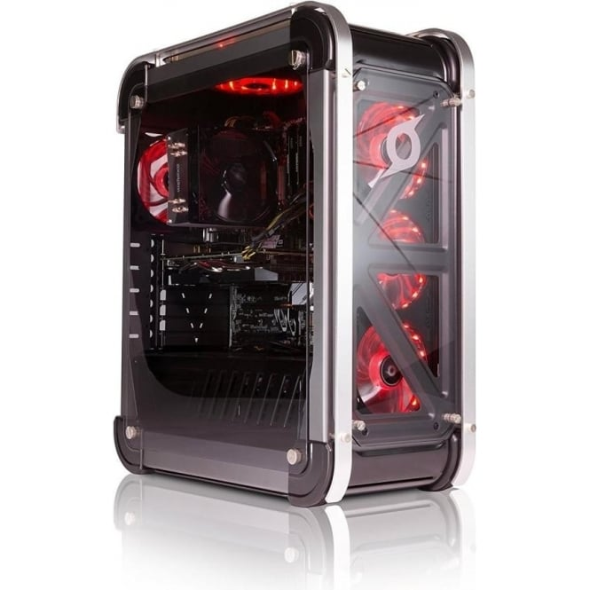 Zoostorm Lux PC Gaming Computer Intel Core i7-7700, 16GB RAM, 3TB HDD, 256GB SSD, NVIDIA GeForce GTX 1060, Win 10 Home